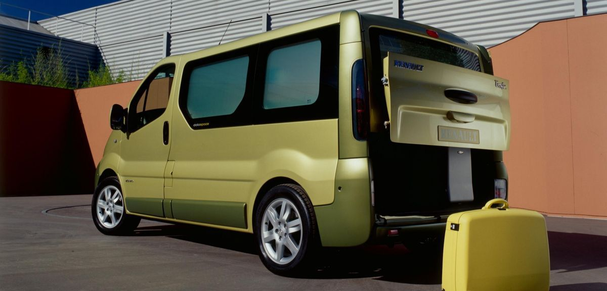 Show car Renault Trafic Dataspace (2001)
